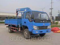 CNJ Nanjun NJP5120JSQPP38B truck mounted loader crane