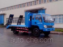 CNJ Nanjun NJP5100TPBPP38M flatbed truck