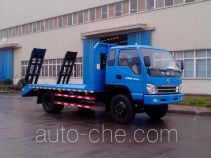 CNJ Nanjun NJP5140TPBPP45M flatbed truck