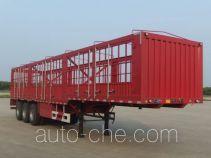 南骏牌NJP9400CCYD3300型仓栅式运输半挂车