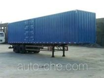 King Long NJT9210XXY box body van trailer