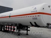 Mingxin NMX9400GDYN cryogenic liquid tank semi-trailer