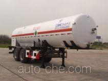 CIMC NTV9280GDYD cryogenic liquid tank semi-trailer