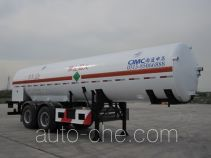 CIMC NTV9350GDYD cryogenic liquid tank semi-trailer