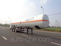 CIMC NTV9409GDY cryogenic liquid tank semi-trailer