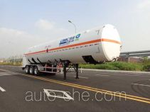 CIMC NTV9380GDY cryogenic liquid tank semi-trailer