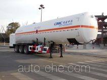 CIMC NTV9380GDYJ cryogenic liquid tank semi-trailer