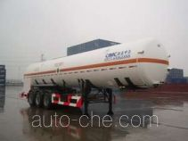 CIMC NTV9400GDYC cryogenic liquid tank semi-trailer