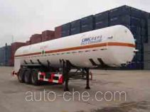 CIMC NTV9400GDYD cryogenic liquid tank semi-trailer