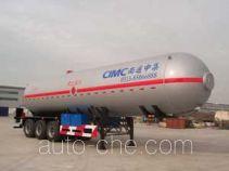 CIMC NTV9400GYQQ liquefied gas tank trailer