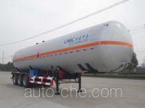 CIMC NTV9400GYQS liquefied gas tank trailer