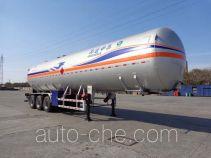 中集牌NTV9404GYQ型液化气体运输半挂车