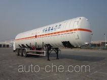 CIMC NTV9408GDY cryogenic liquid tank semi-trailer