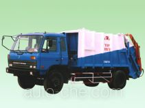 Arm-type garbage compactor truck