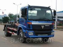 Yuchai Xiangli NZ5166ZXX detachable body garbage truck