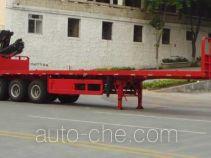 FXB PC9400JSQLY flatbed trailer mounted loader crane