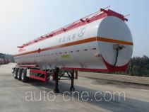 Pucheng PC9401GRYH flammable liquid aluminum tank trailer