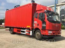 Wing van truck