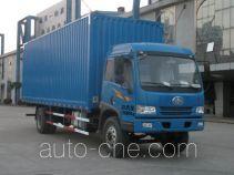 Sutong (FAW) PDZ5161XYKAE4 автофургон с подъемными бортами (фургон-бабочка)