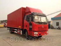 Sutong (FAW) PDZ5161XYKBE4 автофургон с подъемными бортами (фургон-бабочка)