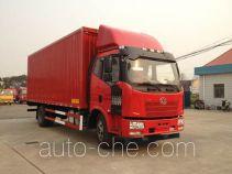 Sutong (FAW) PDZ5162XYKBE4 автофургон с подъемными бортами (фургон-бабочка)