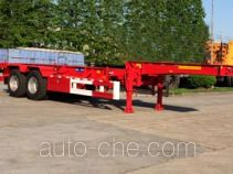 Sutong (FAW) PDZ9353TWY dangerous goods tank container skeletal trailer