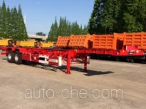 Sutong (FAW) PDZ9354TWY dangerous goods tank container skeletal trailer