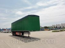 Sutong (FAW) PDZ9400CPY soft top box van trailer
