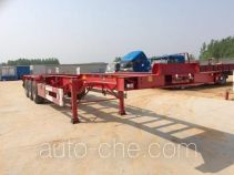 Sutong (FAW) PDZ9405TWY dangerous goods tank container skeletal trailer