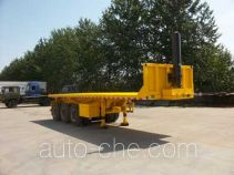 Jilu Hengchi PG9400ZZXP flatbed dump trailer