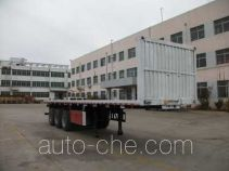 Jilu Hengchi PG9407ZZXP flatbed dump trailer