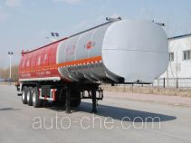Jinbi PJQ9401GRYH flammable liquid tank trailer