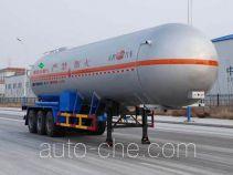 Jinbi PJQ9403GYQ liquefied gas tank trailer