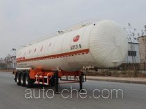Jinbi PJQ9404GRYB flammable liquid tank trailer