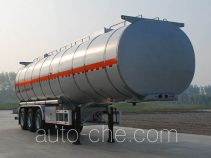 Jinbi PJQ9405GRYH flammable liquid tank trailer