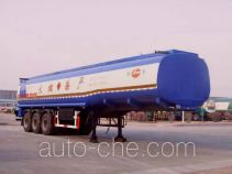 Jinbi PJQ9407GHYX chemical liquid tank trailer