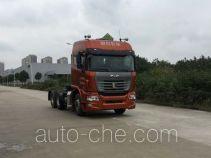 集瑞联合牌QCC4252D654WK型危险品牵引汽车