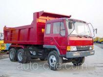 琴岛牌QD3251P1K2T1型平头柴油自卸车
