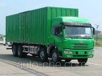 琴岛牌QD5241XXYP7K2L11T4型厢式运输车