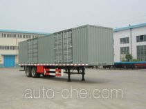 Qindao QD9270XXY box body van trailer