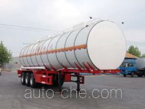 Huachang QDJ9400GRYA flammable liquid tank trailer