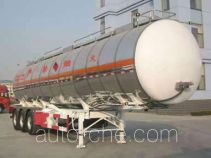 Huachang QDJ9401GRY flammable liquid tank trailer