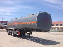 Huachang QDJ9409GRY flammable liquid tank trailer