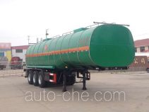 Huachang QDJ9401GRYA flammable liquid tank trailer