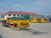 Huachang QDJ9401TJZG container transport skeletal trailer