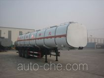 Huachang QDJ9402GRY flammable liquid tank trailer