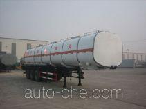 Huachang QDJ9402GRY flammable liquid tank trailer