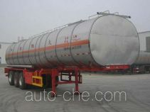 Huachang QDJ9403GRY flammable liquid tank trailer