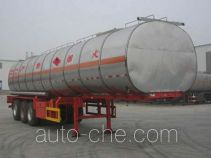 Huachang QDJ9403GRY flammable liquid tank trailer