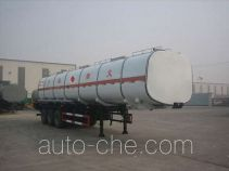 Huachang QDJ9406GRY flammable liquid tank trailer